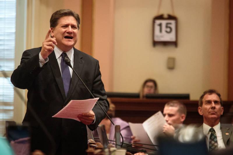 State Sen. Bob Hertzberg (D-Los Angeles), pictured in 2015.