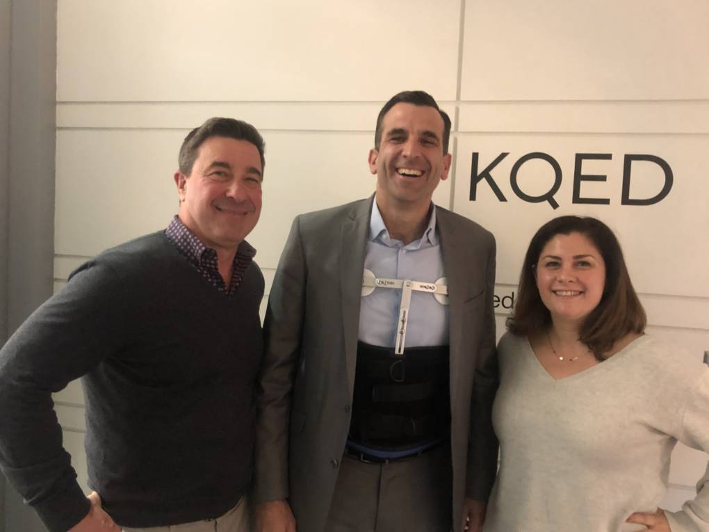 Sam Liccardo on His Early California Roots, Bringing Google to San Jose, and High-Speed Rail