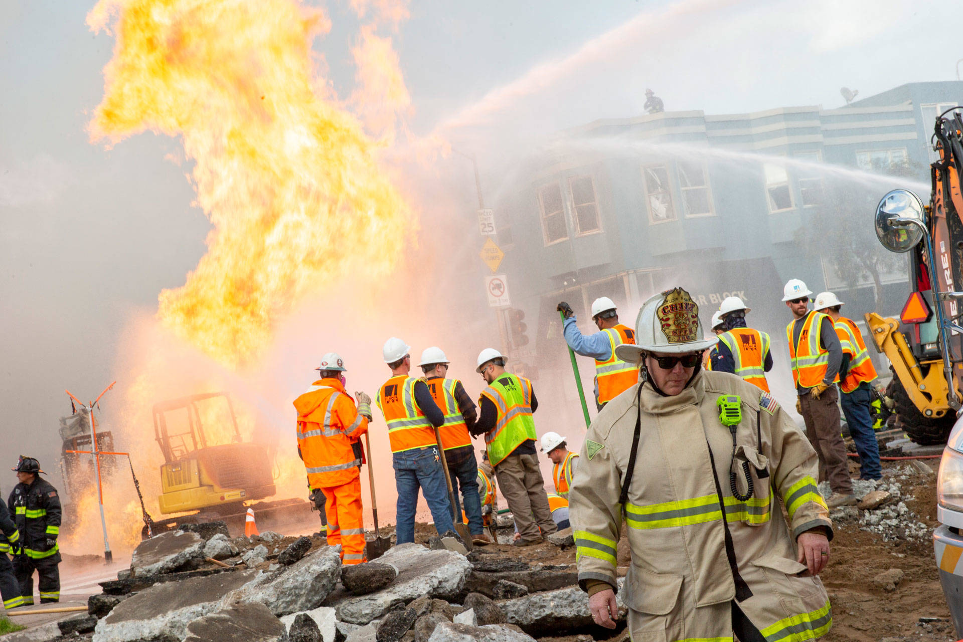 Contractor Tied to San Francisco Pipeline Explosion Didn't Have a