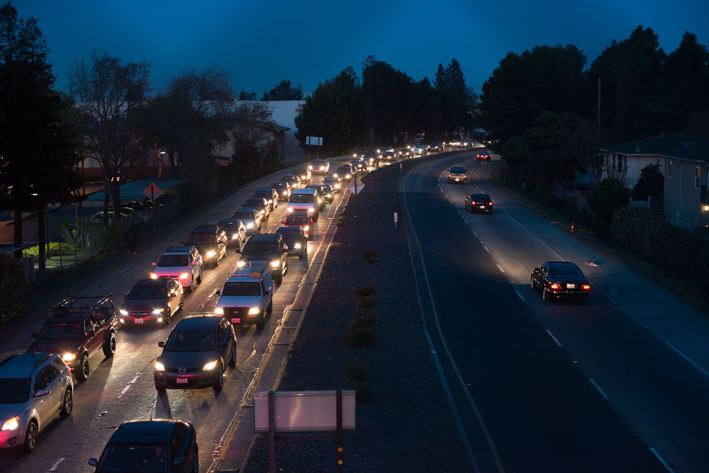 Silicon Valley's Economy Is Booming, But So Is the Traffic