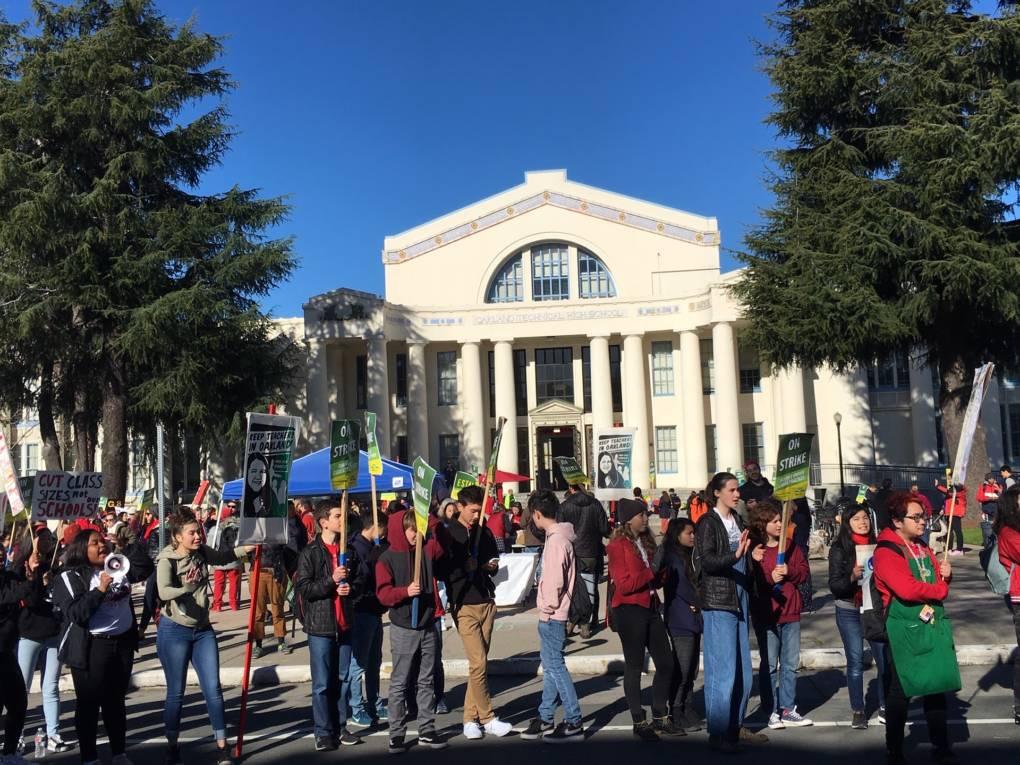 Oakland Teachers Head into Second Day of Strike