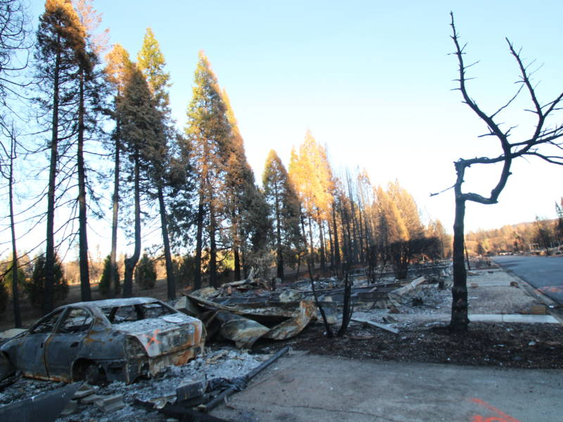 The Camp Fire of November 2018 destroyed roughly 90 percent of the homes in Paradise, Calif. The owners of the few homes that remain standing may face problems when it is time to renew their home insurance.