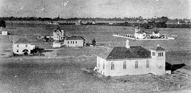 Palo Alto in 1896.