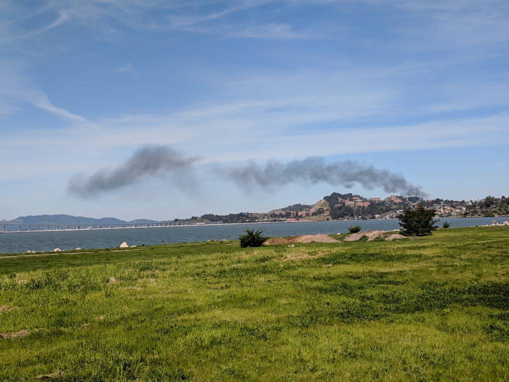 Chevron's Richmond Refinery Flaring Incidents at Highest Level in More Than a Decade