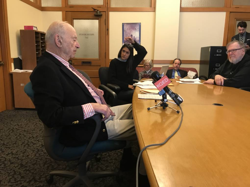 Quentin Kopp Resigns From S.F. Ethics Commission He Calls 'Amateurish'