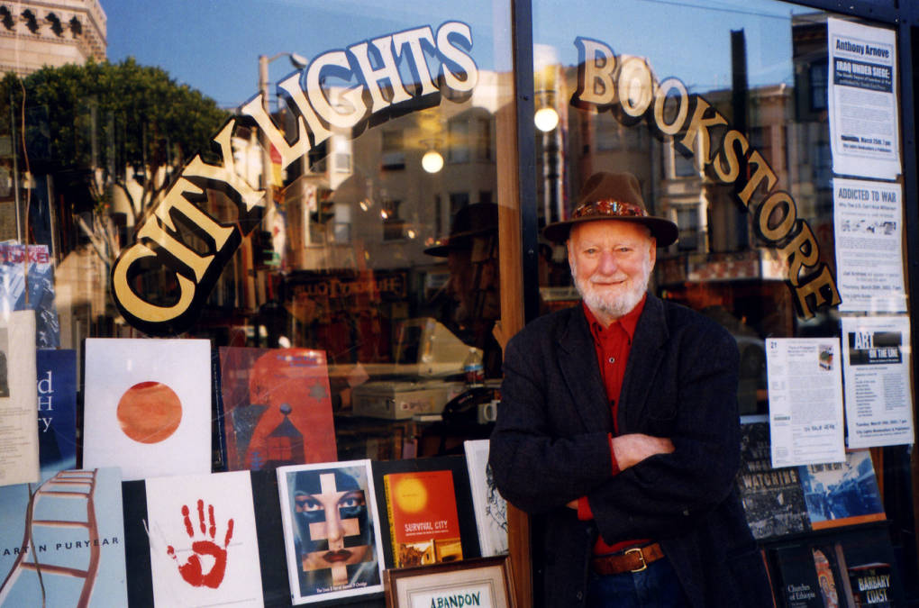 Literary Icon Lawrence Ferlinghetti Marks His 100th Birthday With New Work