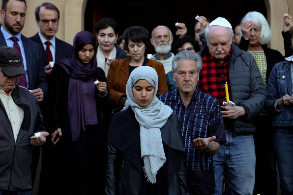 Mosque Attack Vigil
