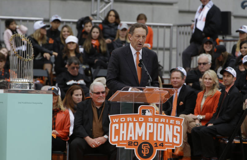 MLB Suspends Giants CEO Larry Baer Without Pay