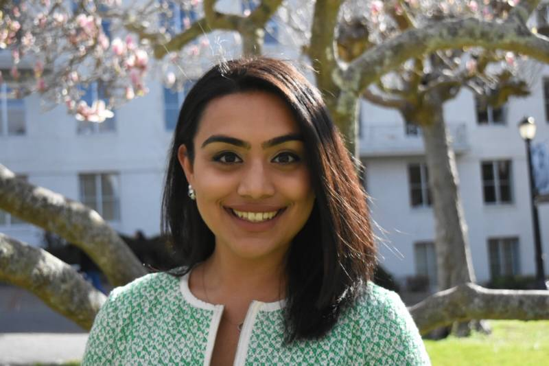 UC Berkeley senior, Nuha Khalfay.
