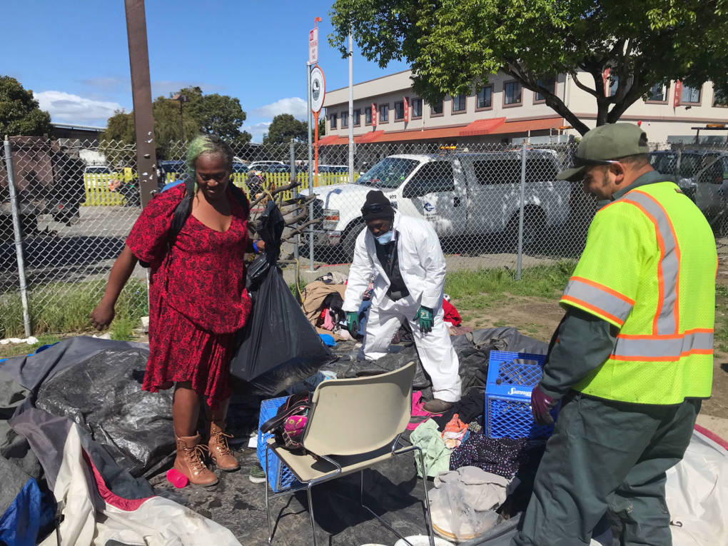 Richmond Homeless on the Move Again After City Clears Large Tent Encampment