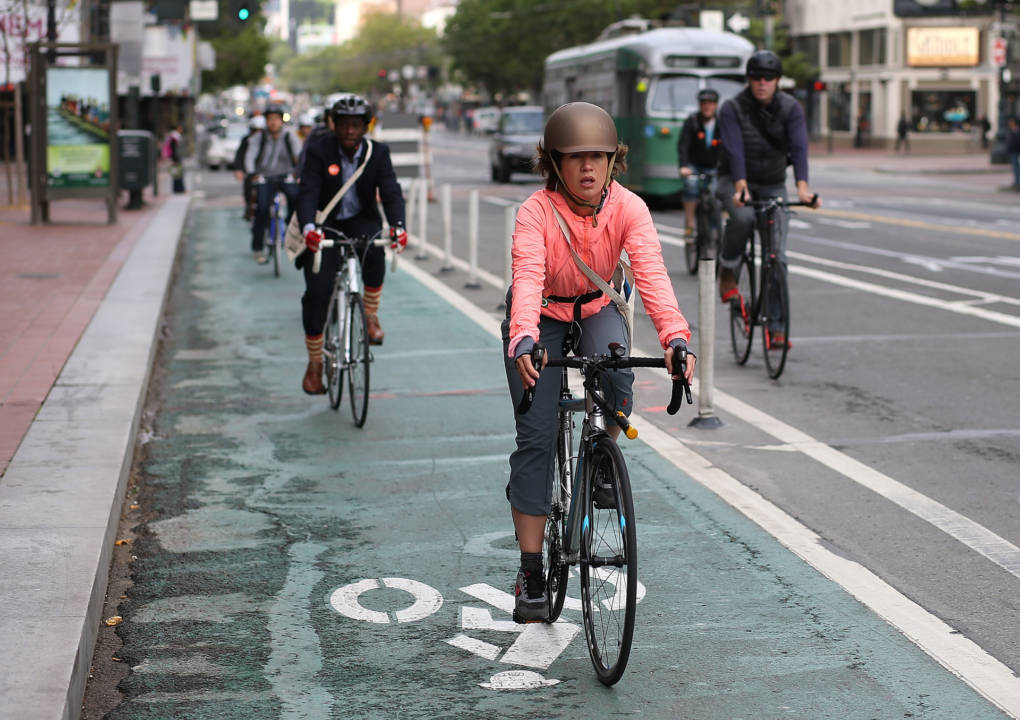 San Francisco to Get 20 New Miles of Protected Bike Lanes, Mayor Says on Bike to Work Day