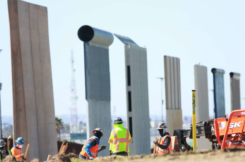 Judge Blocks Trump From Building Sections of Border Wall | The