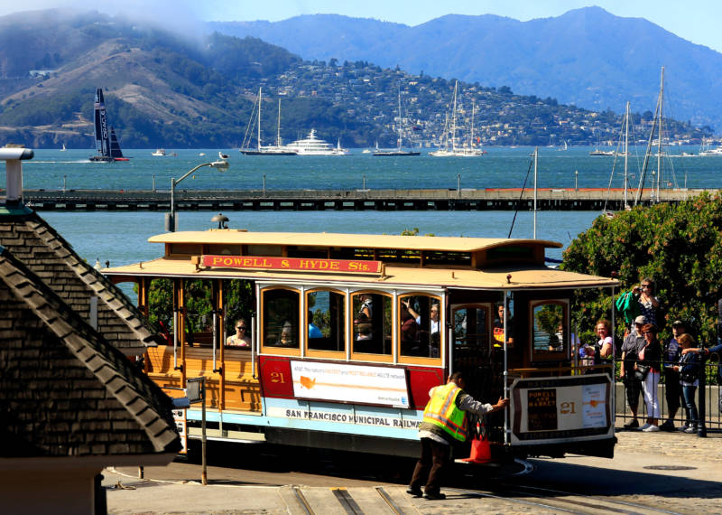 Cable cars have been roaming San Francisco streets for more than a century, but a lot of locals have never taken a ride.