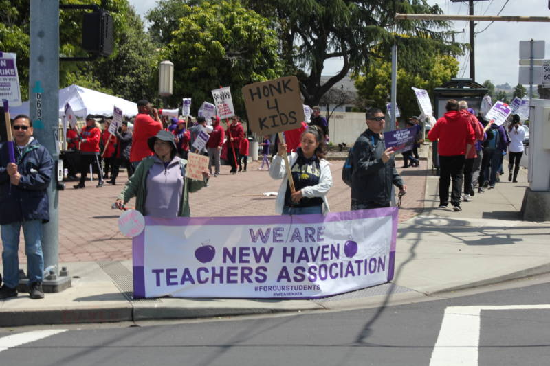 New Haven Teachers Strike To Continue Over Memorial Day Weekend
