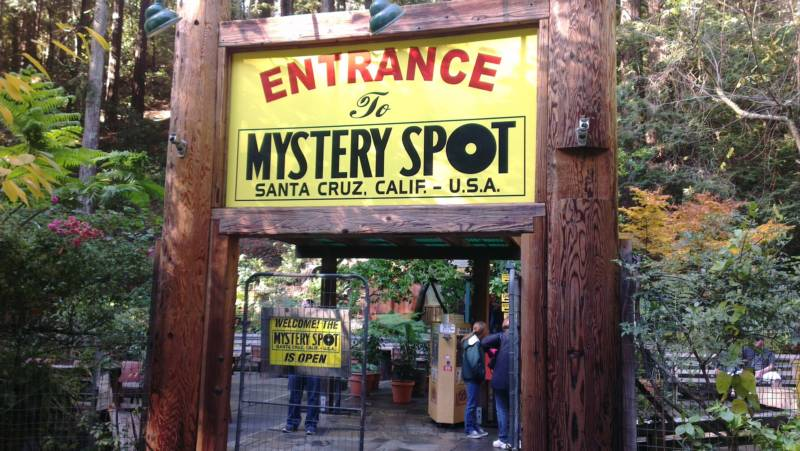 It's a mystery why so many locals have never been to the Mystery Spot in Santa Cruz.