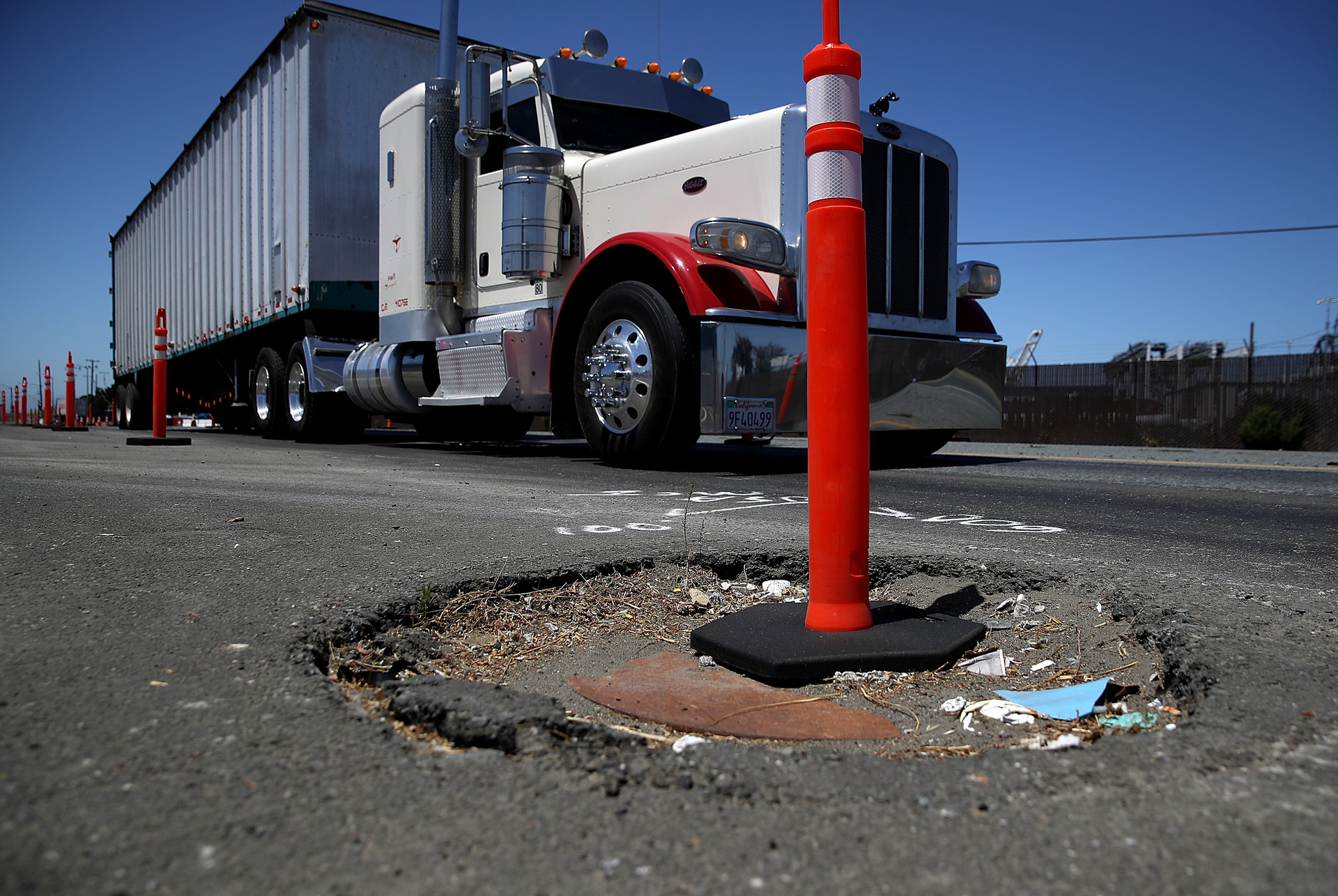 Oakland's 'Pothole Vigilantes' Take Street Repairs Into Their Own Hands