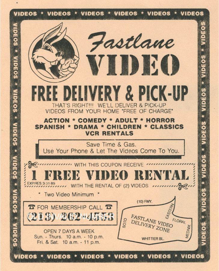 An original flyer Martin and Eddie Felix printed and mailed to households across East Los Angeles.