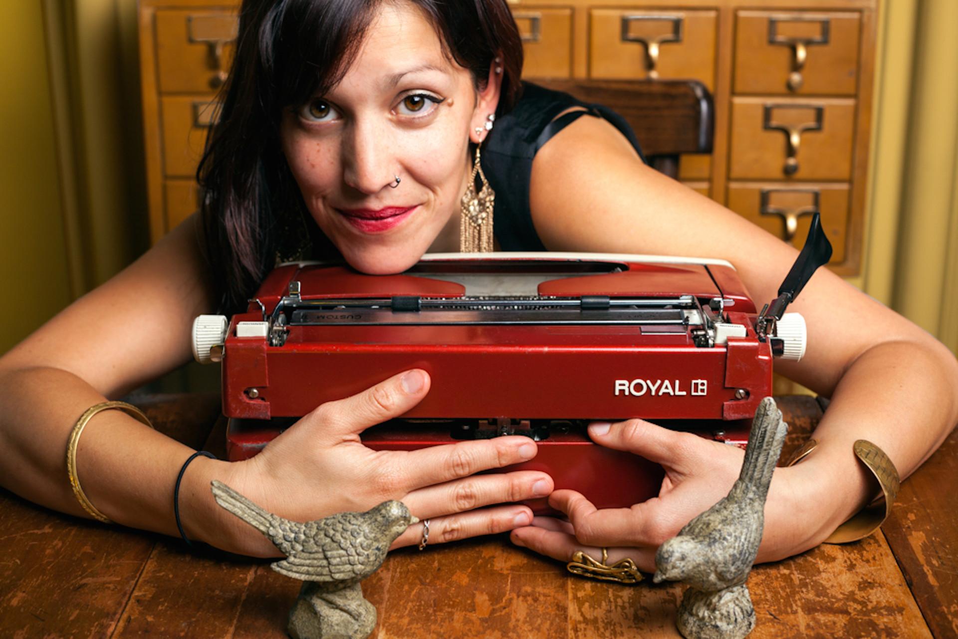 San Francisco's Typewriter Poet Brings Art Back to Analog
