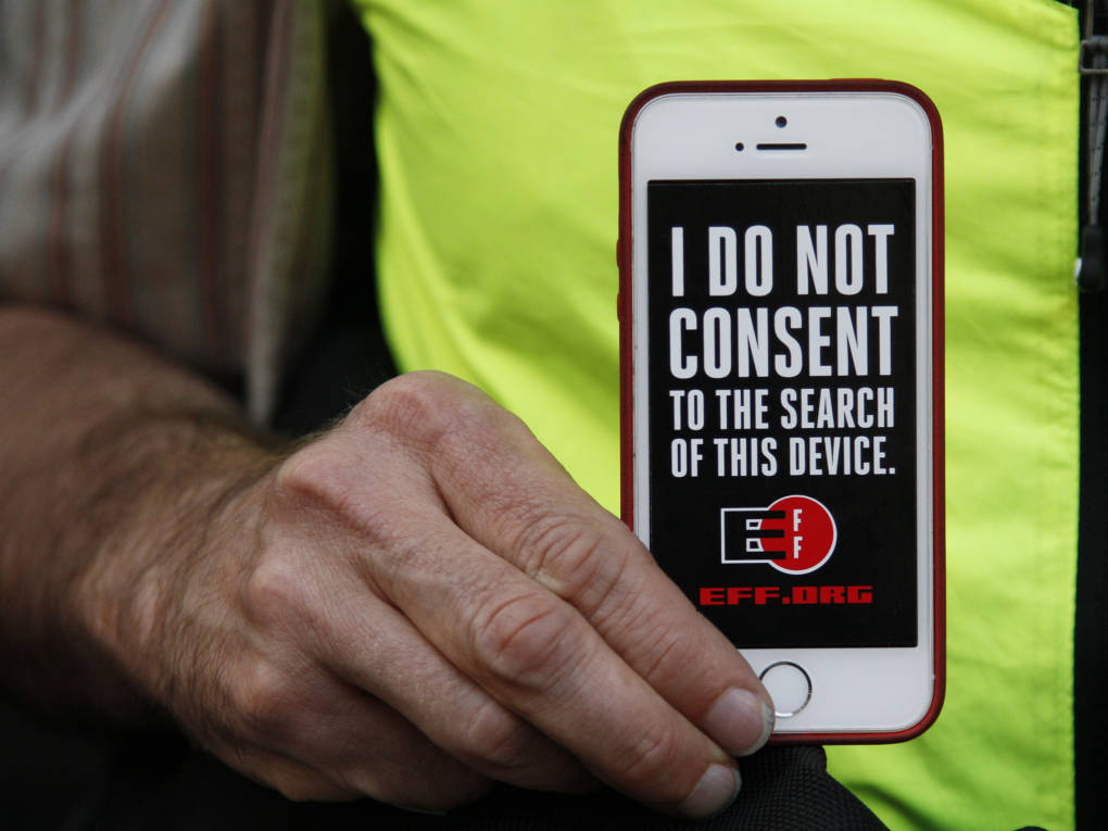ACLU: Border Agents Violate Constitution When They Search Electronic Devices