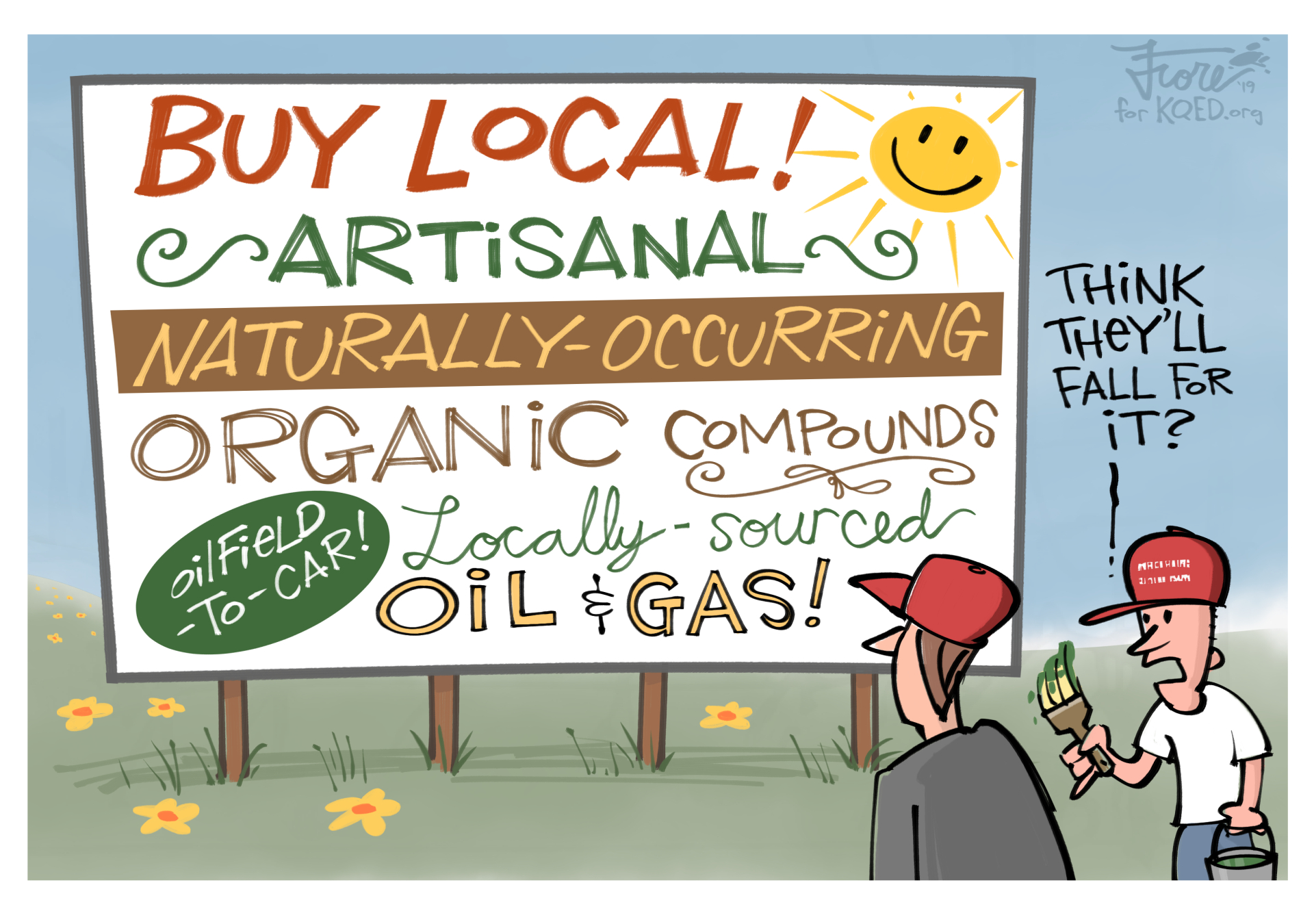 Trump Administration Wants You to Buy Local