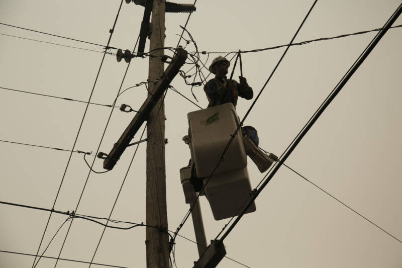 PGampE Restores Power To 20000 In Butte And Yuba Counties
