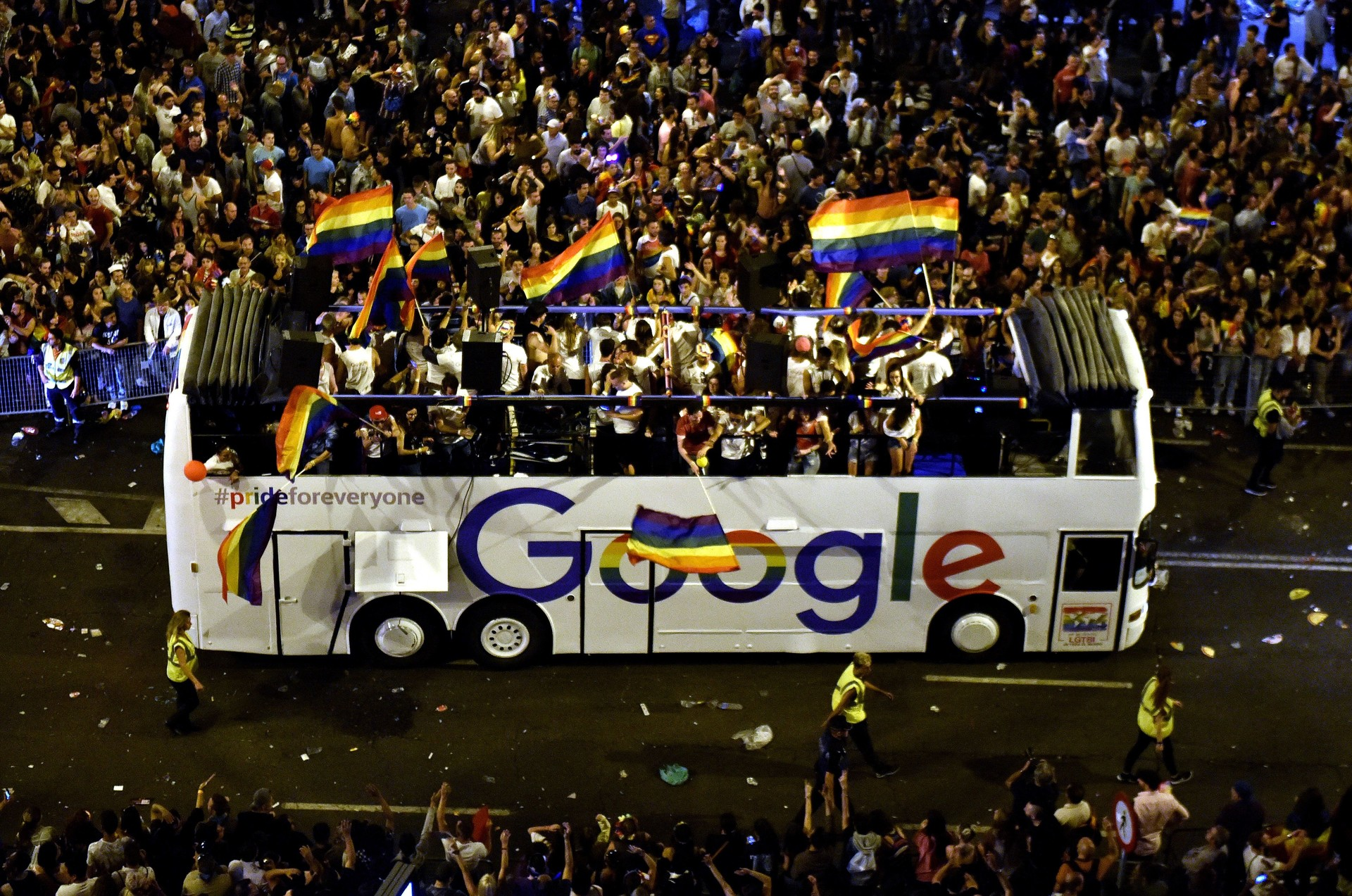 Google Won't Be Kicked Out of SF Pride — Despite Petition by its Own Employees