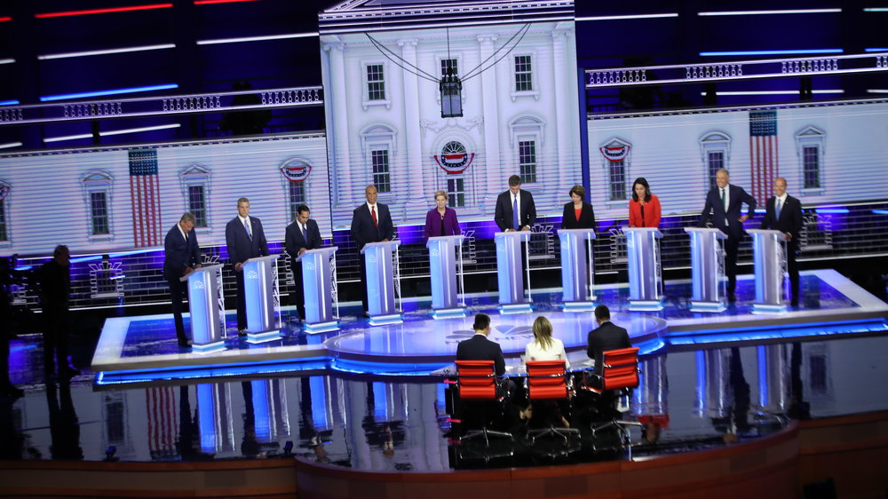 Recap: The First Night of the First Democratic Presidential Debate