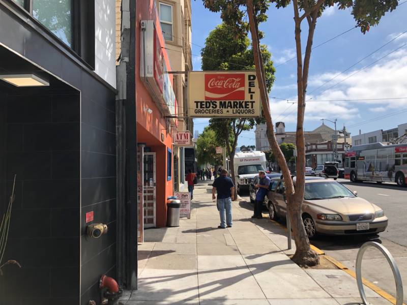 Ted's Market is a convenience store in the South of Market neighborhood in San Francisco. Miriam Zouzounis is a third-generation owner of the store. She said the e-cigarette ban will hurt the market's bottom line.