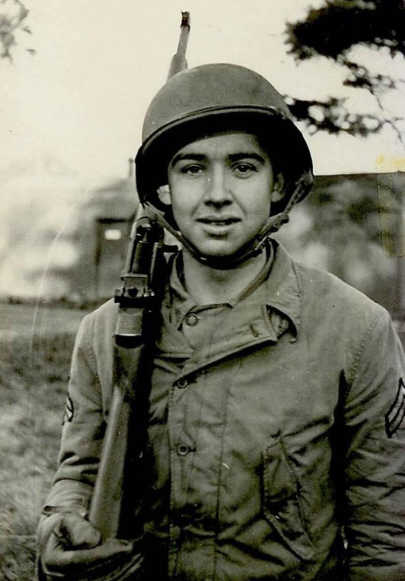 Jake Larson during World War II.