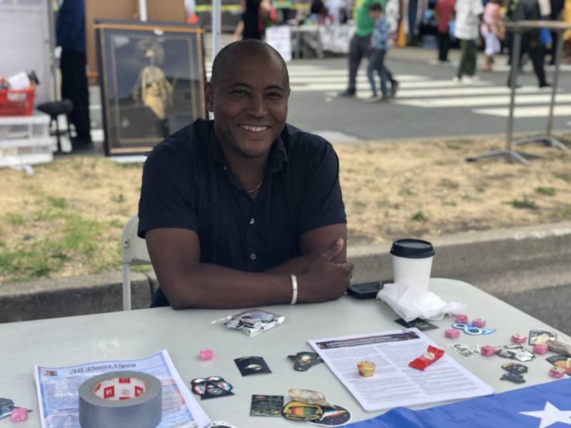 'In my mind, [Juneteenth] is the actual independence day of America, the day that all of us became free,' said city councilman Ben Bartlett. He became a city councilmember several years ago when his own mother was facing displacement.