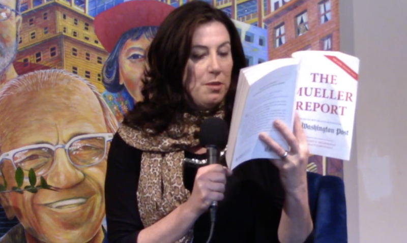 Christine Pelosi reads from The Mueller Report