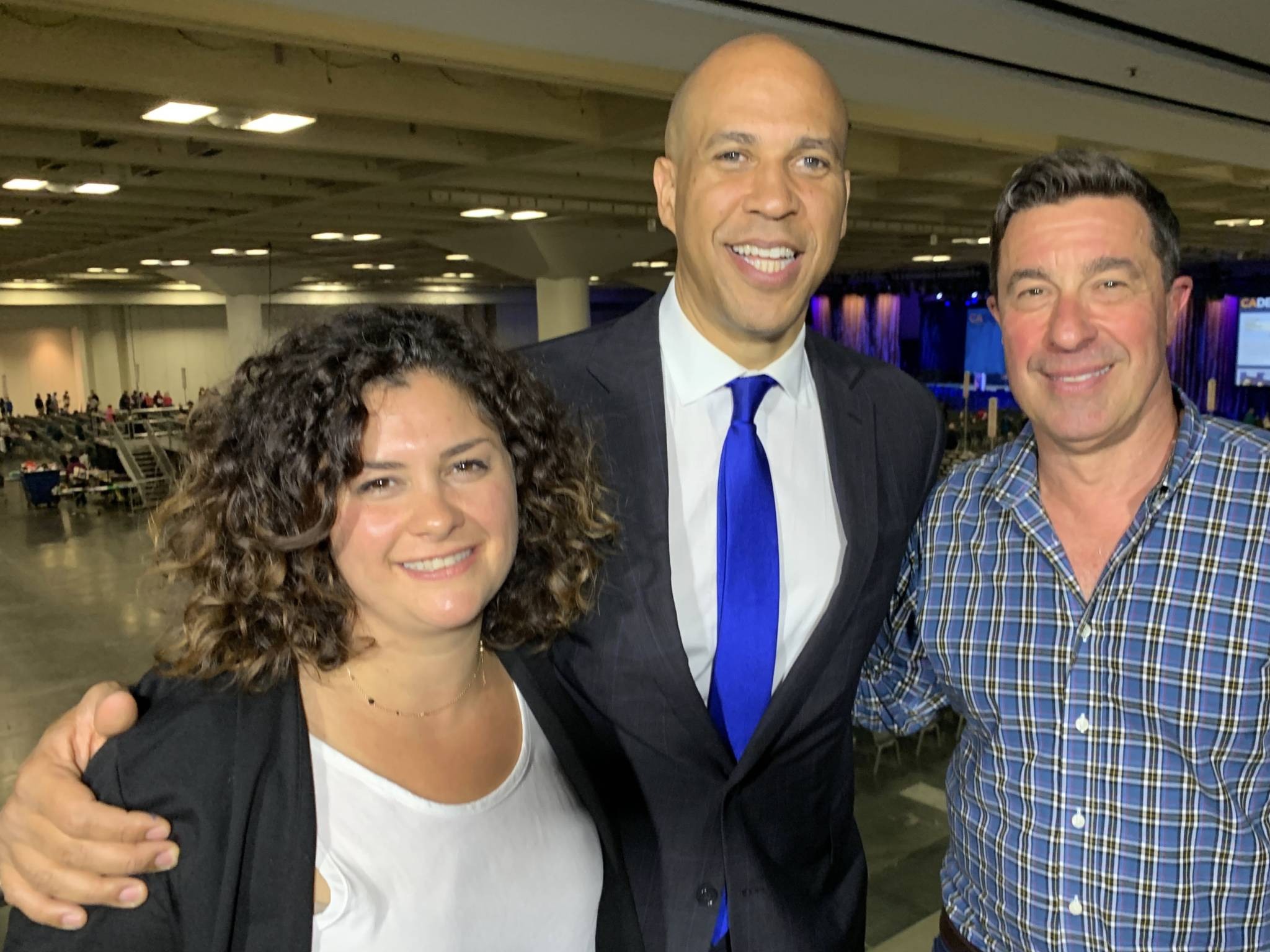 Cory Booker on His Push for 'Civic Grace,' Football at Stanford, and Dating in the Projects