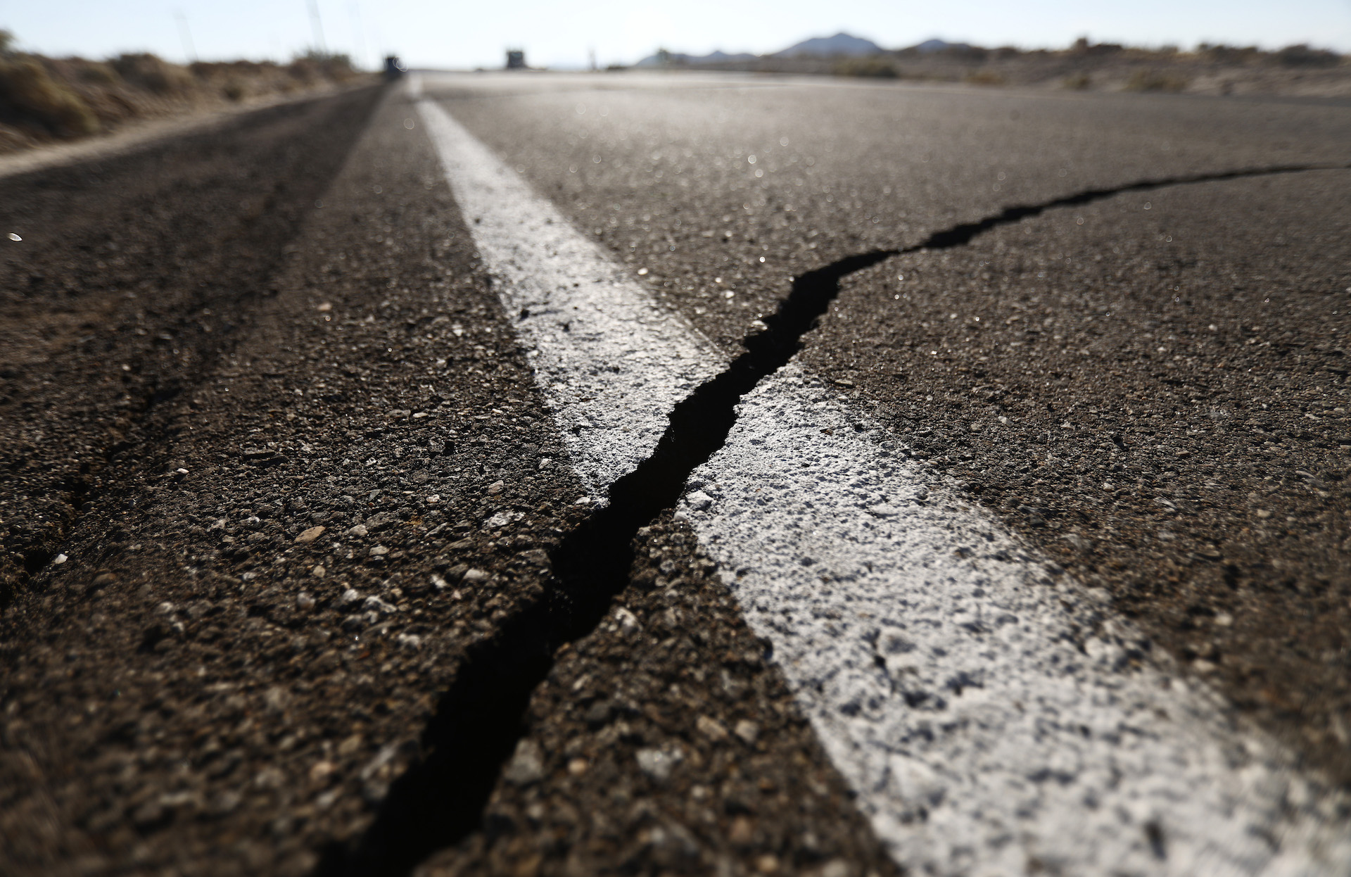 Mojave Desert Rocked by Followup Quake, This One Magnitude 7.1