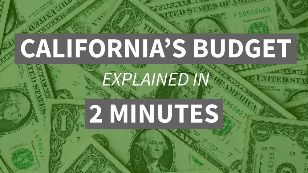 Video: What You Need to Know About California's New Budget