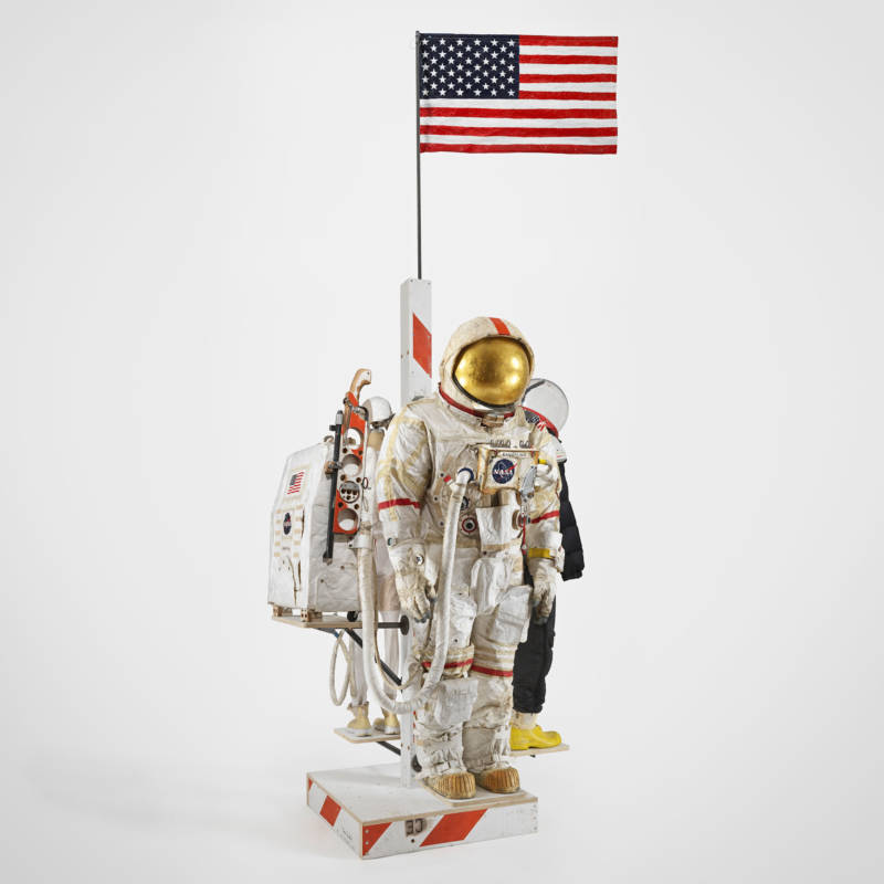 "An exhibit in the San Francisco Museum of Modern Art's new exhibition, ""Far Out: Suits, Habs, and Labs for Outer Space."""