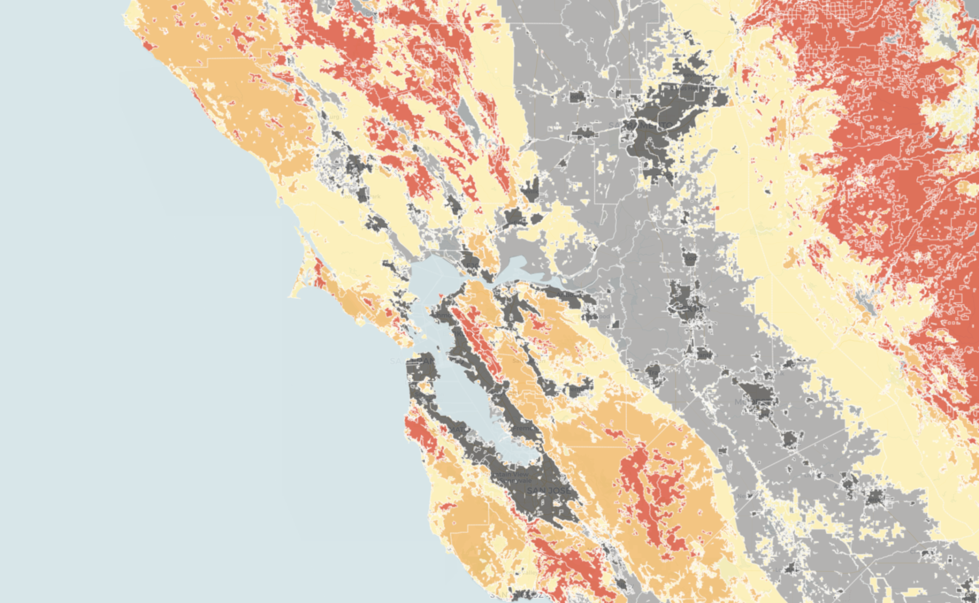 MAP: Do You Live in a High-Risk Fire Zone?