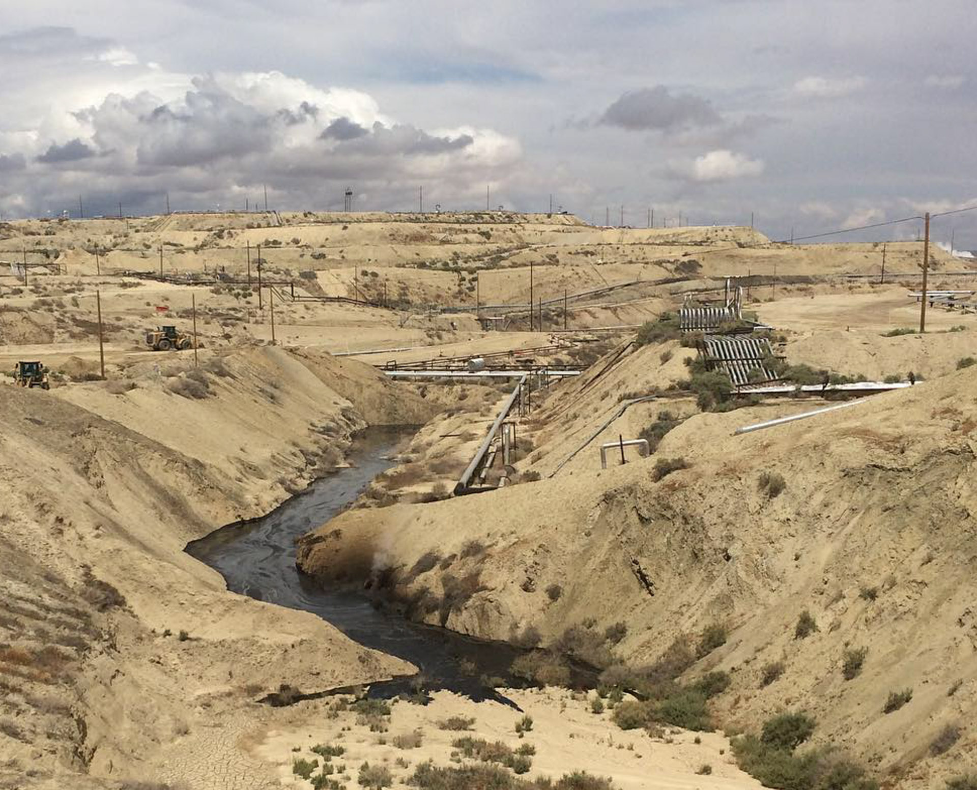 Chevron Well at Center of Major Oil Spill in Kern County Oil Field