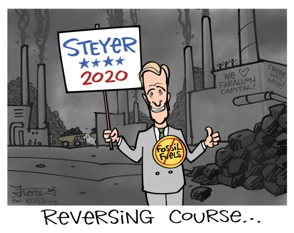 Tom Steyer, Climate Activist and Former Coal Funder, Runs for President
