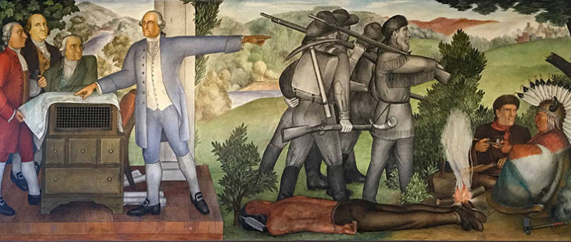 Supporters Rally Around New Deal Mural Threatened By Ucsf Construction Kqed