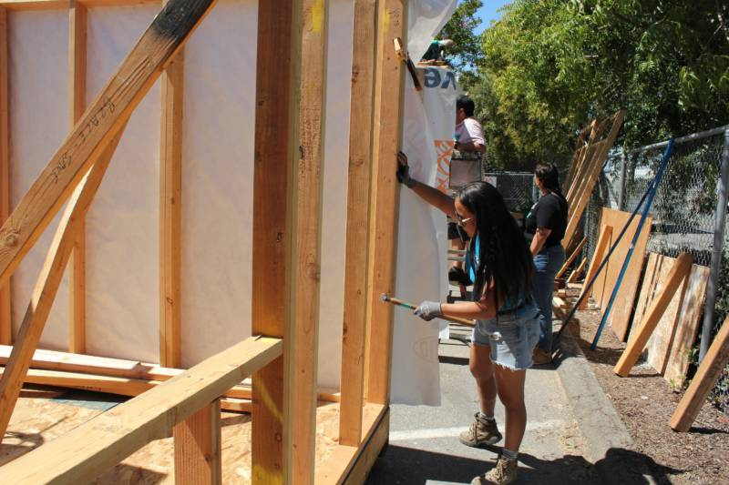 San Jose Builds Its First-Ever Tiny Homes for the Homeless