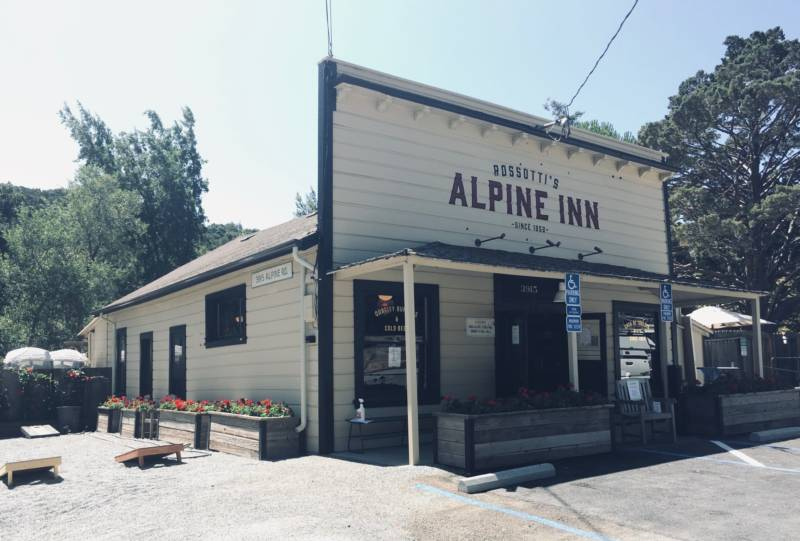 Historic Portola Valley Watering Hole Reopens, Refurbished to