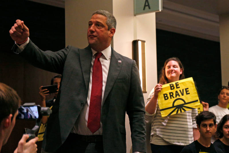 Rep. Tim Ryan at the Democratic National Committee's summer meeting in San Francisco  on Friday.