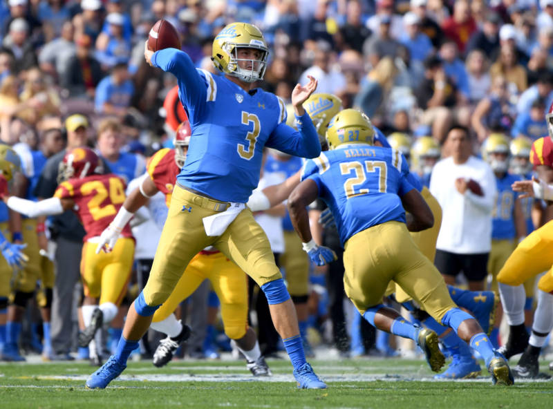UCLA largely uses its admissions by exception to recruit gifted athletes. The university is highly selective and receives more applications than any other campus at UC.
