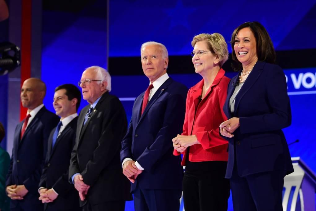 KQED Poll: Harris Slips in California, as Warren, Sanders and Biden Lead the Pack