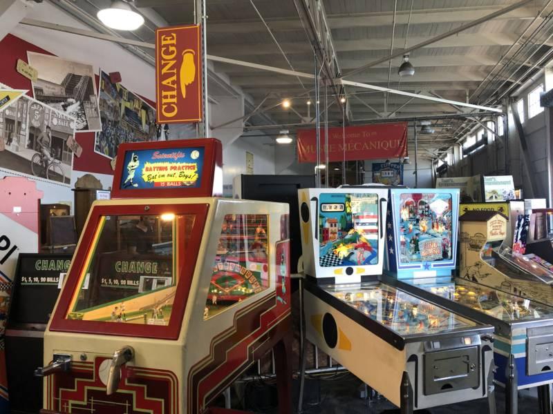 Machines at Musée Mécanique