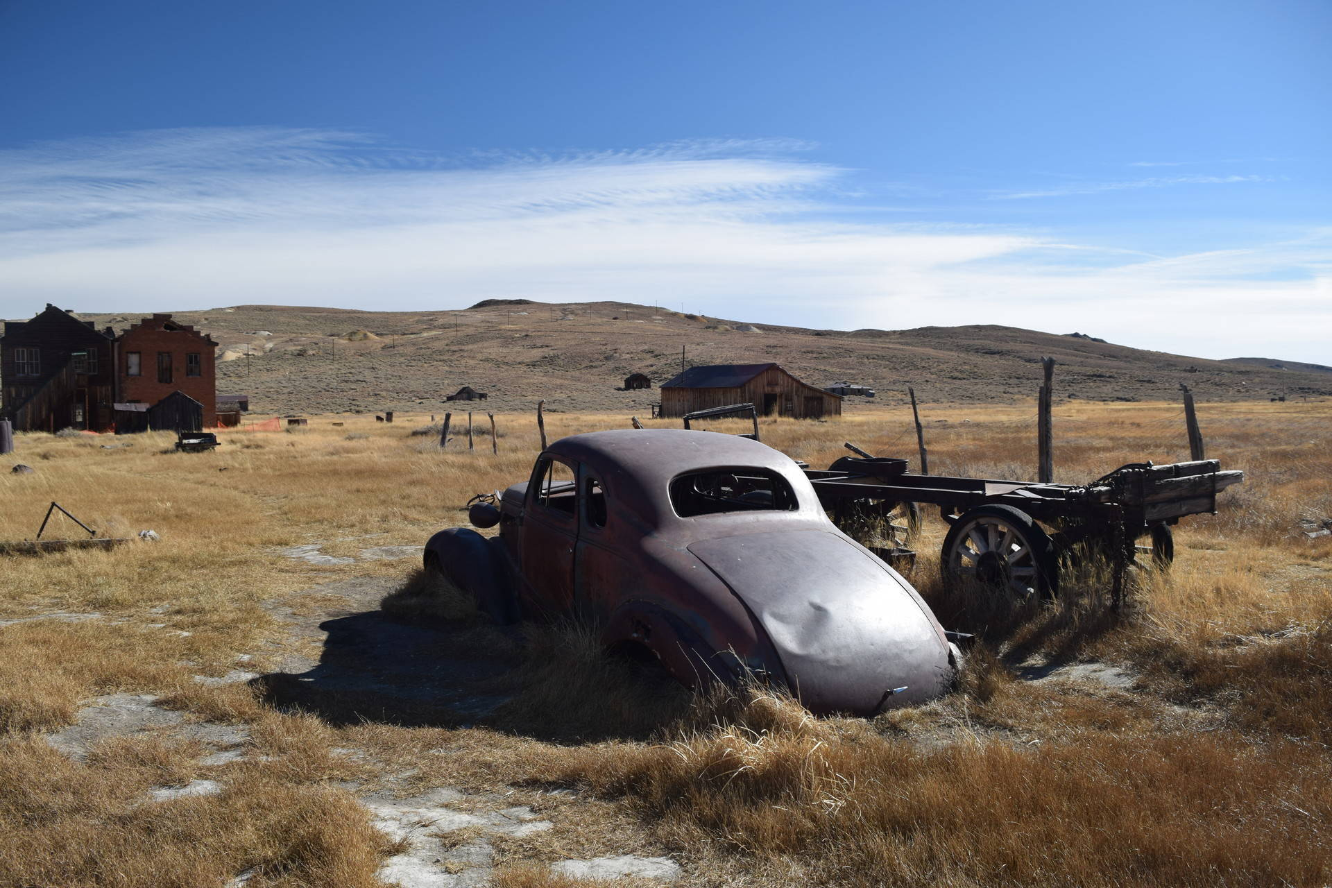 The Sierra ghost town of Bodie Carly Severn / KQED