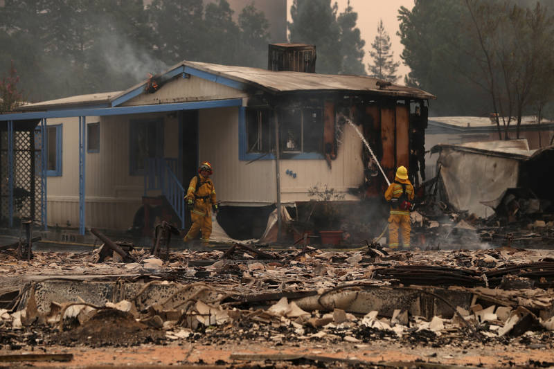 Fire Can Be Risky, Deadly Drawback of Living in Mobile Homes