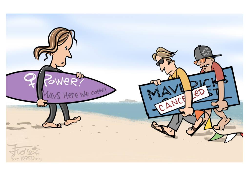 Mavericks Surf Contest Canceled – Waves Don't Care