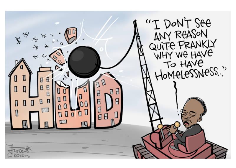 After Slashing HUD Budget, Ben Carson Sees No Reason for Homelessness