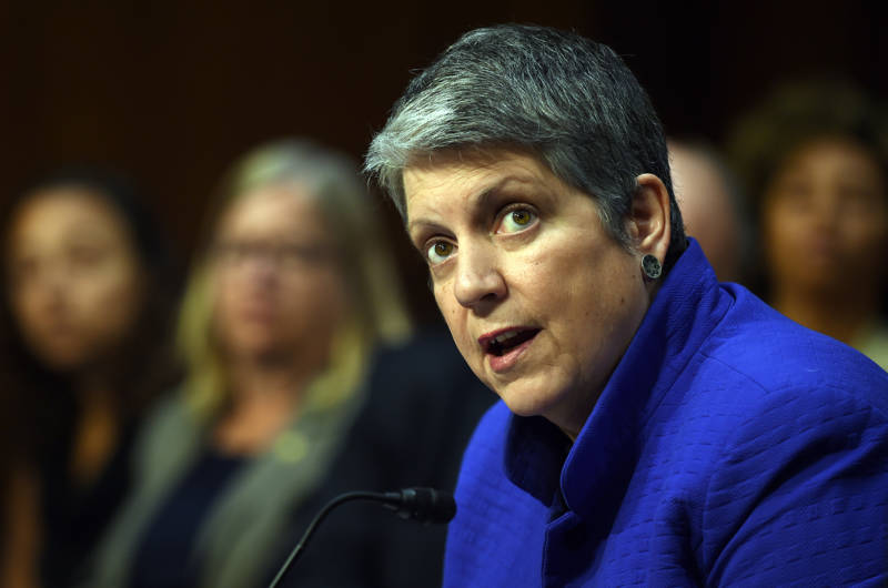 UC President Janet Napolitano Announces Plans to Step Down in August 2020
